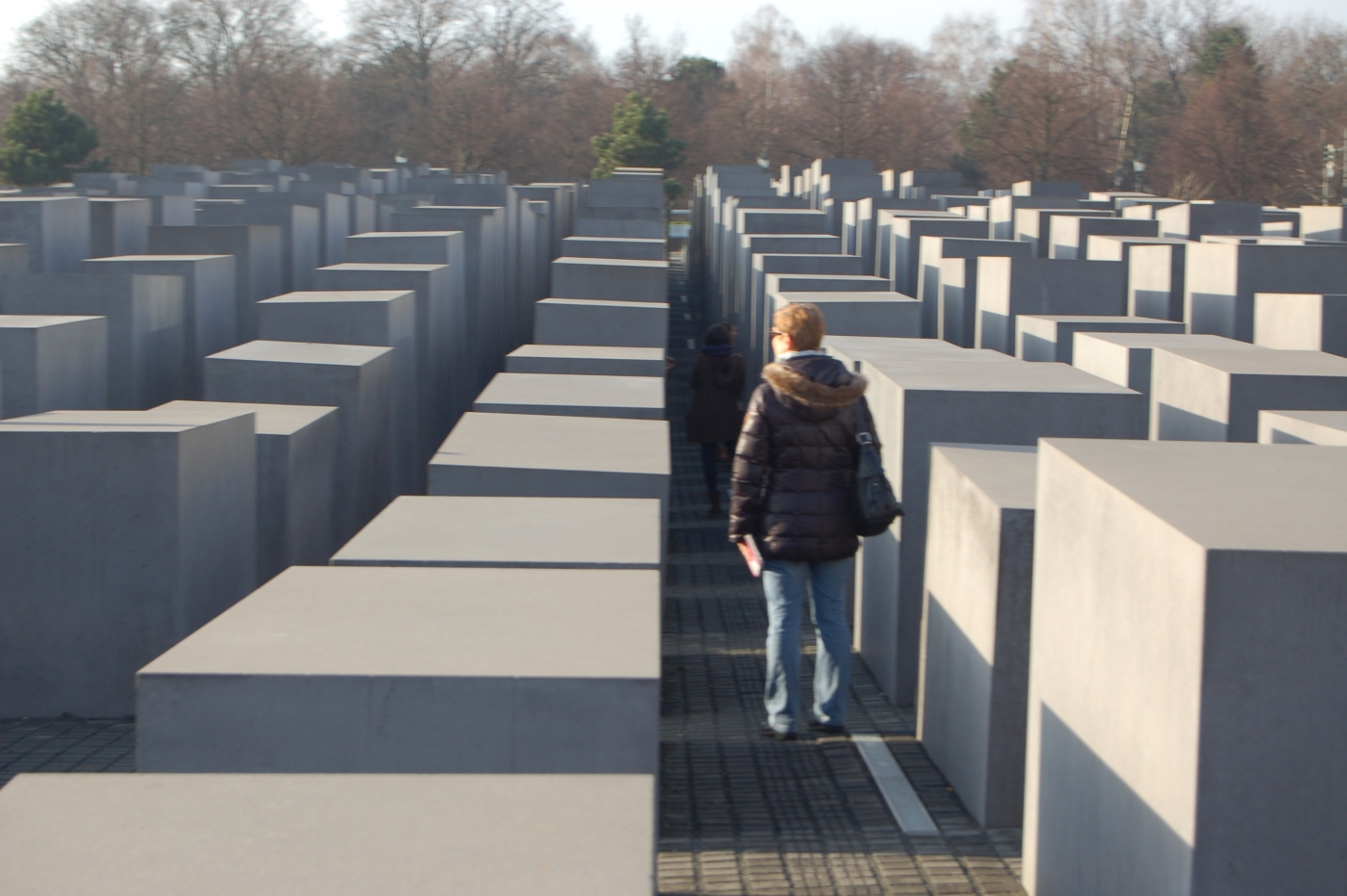 Holocaust-Mahnmal Berlin 2014